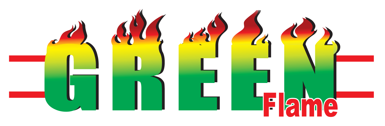 logo green flame